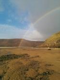 three cliffs_rainbow